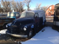1950 Cheverlot 3/4 t panel